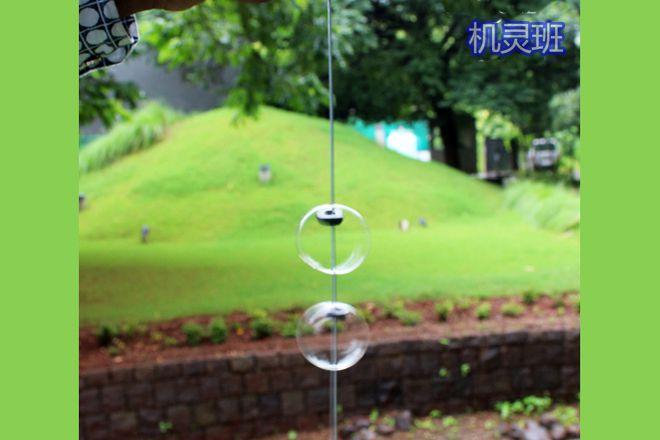矿泉水瓶废物利用手工制作塑料旋转泡泡玩具(步骤图解)8